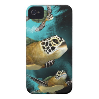 Sea Turtle Sea Life Conservation iPhone 4 Cases