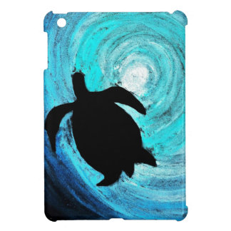 Sea Turtle Silhouette (K.Turnbull Art) iPad Mini Case
