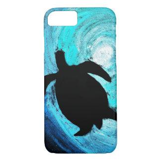 Sea Turtle Silhouette (Kimberly Turnbull Art) iPhone 8/7 Case