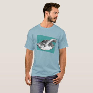 Sea Turtle Sketch T-Shirt
