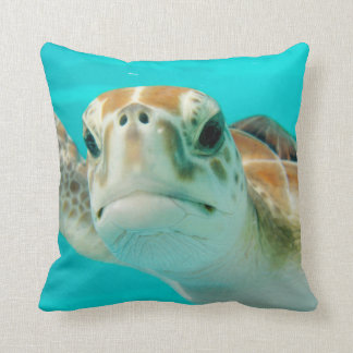 Sea Turtle Square Pillow