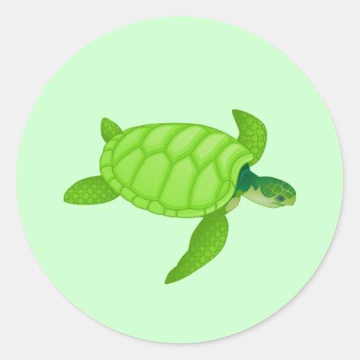 Sea Turtle Stickers