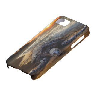 Sea Turtle Sunset Barely There iPhone 5 Case
