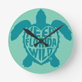 Sea Turtle Time Wall clock