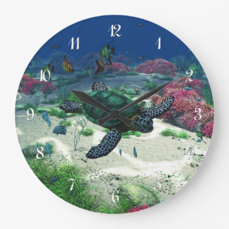 Sea Turtle Wall Clocks