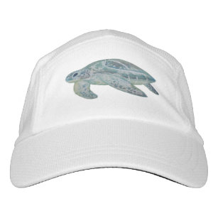 184c8972d90 Sea Turtle with customizable background color Hat