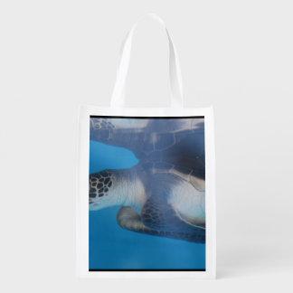 Sea Turtle Reusable Grocery Bag