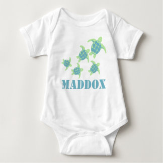 Sea Turtles Baby Bodysuit