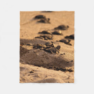 Sea Turtles Fleece Blanket