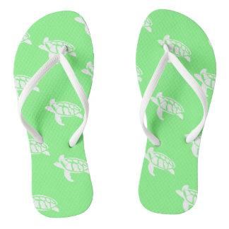 Sea Turtles Flip Flops