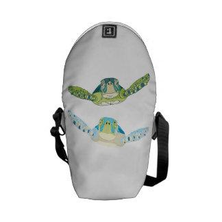 Sea Turtles Messenger Bags