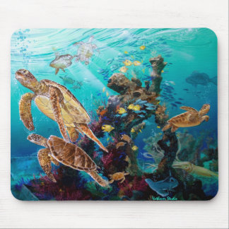 Sea Turtles Mouse Mat