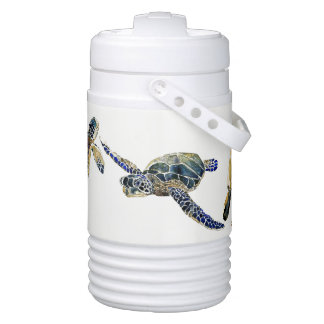 Sea Turtles Ocean Wildlife Animals Igloo Cooler