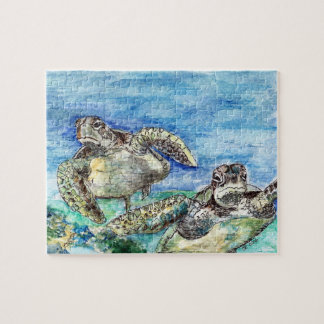 Sea Turtles Puzzle