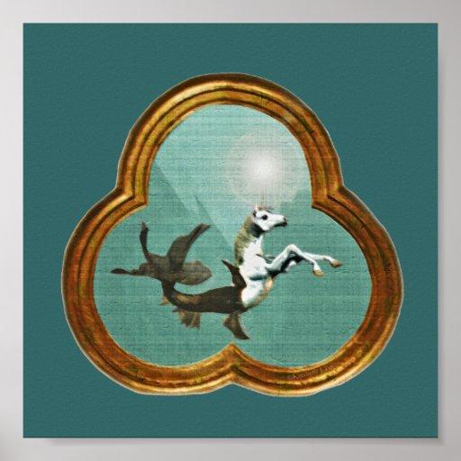 Sea Unicorn Print