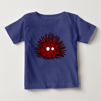 Sea Urchin Uni Spiny Red Hedgehog Ocean Baby T-Shirt