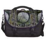 Sea Urchin With Abstract Background Laptop Computer Bag