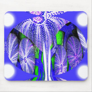 Sea Urchins in moonlight Mouse Pad