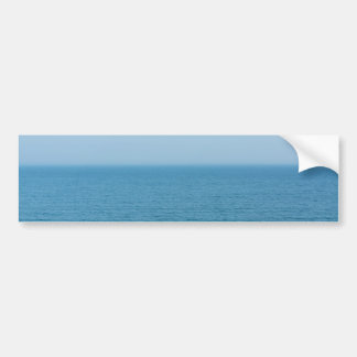 Sea view bumper sticker
