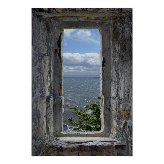 Sea View Effect from a Fake Castle Window
