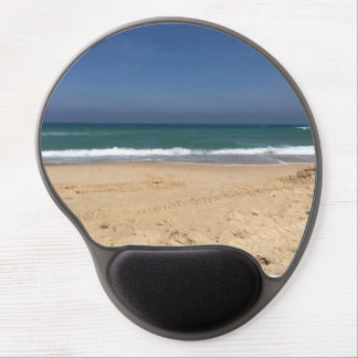 sea view in a summer day gel mouse mat
