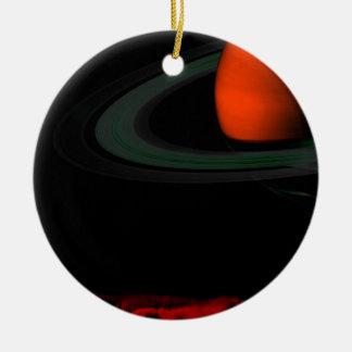 Sea view Saturn Round Ceramic Decoration