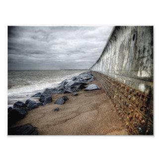 Sea Wall Art Photo