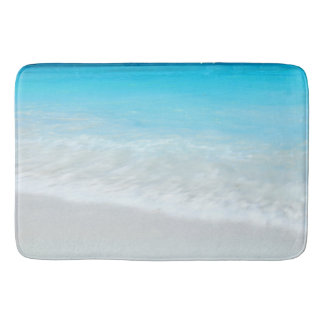 sea water background bath mat