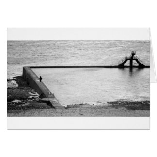 Sea Water Baths, St-Malo, Brittany, France Card
