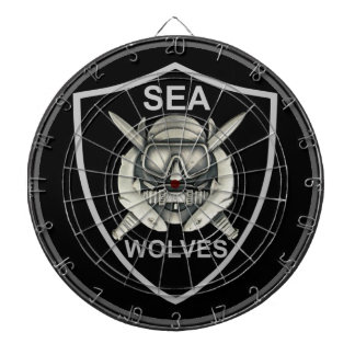 Sea Wolves Custom Dartboard