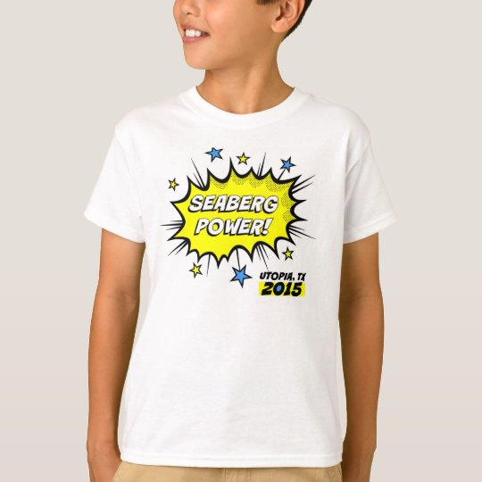 Seaberg Power! Kid T-Shirt