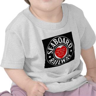 Seaboard Air Line Railway Heart Logo Tshirts