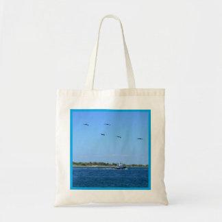 Seabound Lt Budget Tote Bag