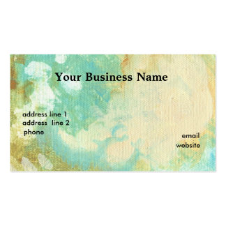 Seaclouds Textured Business Card Template