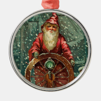 Seafaring Santa Ornament