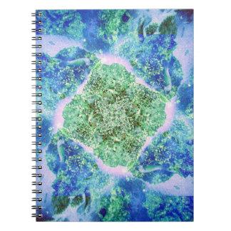 Seafloor Pastel Note Books