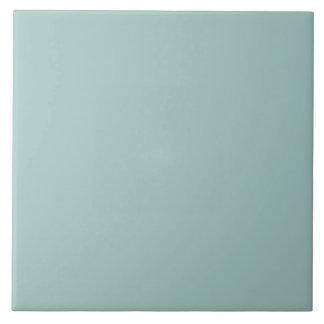 Seafoam Blue Fashion Color Trend 2014 Custom Large Square Tile