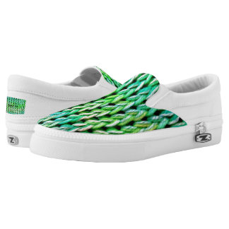 Seafoam Green Mermaid Sneakers