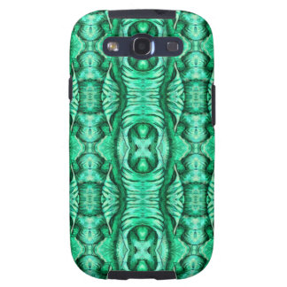 Seafoam Mint Green Dragon Lizard Reptile Scales Samsung Galaxy S3 Covers
