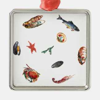 seafood christmas ornament