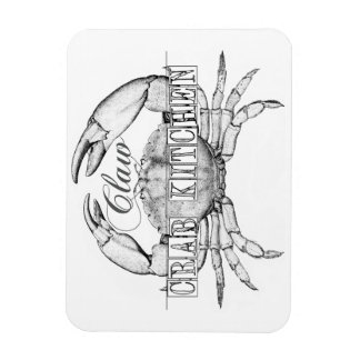 Seafood Crab Lovers magnet
