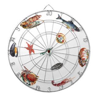 seafood dartboard
