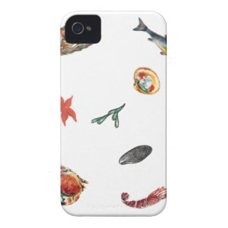 seafood iPhone 4 cover