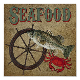 Seafood Poster