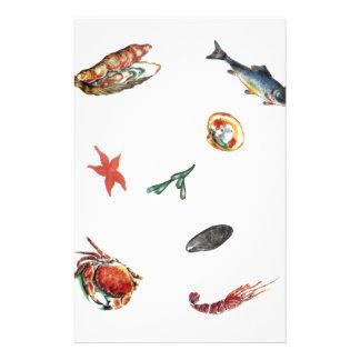 seafood stationery