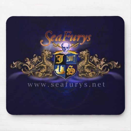 SeaFurys Shield (Blue) Mousepad