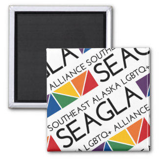 SEAGLA Square Logo Magnet