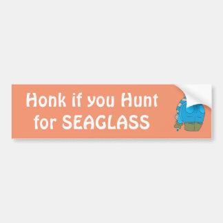Seaglass as a work of Art Bumper Sticker