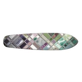 Seaglass Slate Mosaic Pattern Skate Boards