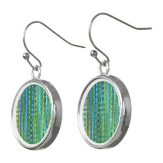 Seagrass Drop Earrings by Artist C.L. Brown
